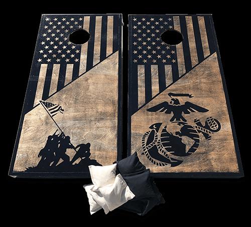 the-rustic-junkee_custom-handmade-black-tan-military-themed-cornhole-boards_hero-png_500px