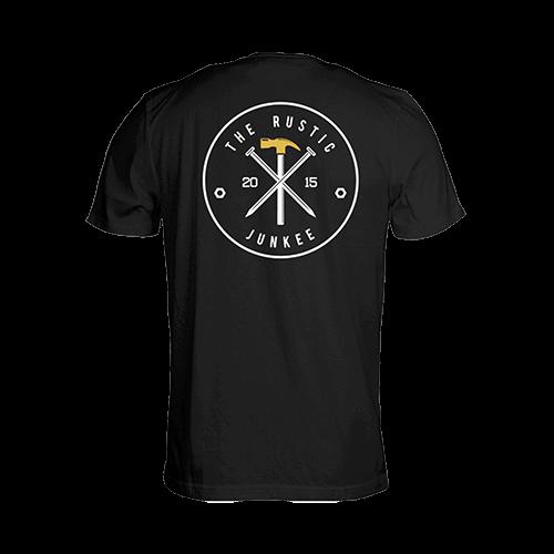 the-rustic-junkee_logo-on-back_black-t-shirt_home-slider_500px